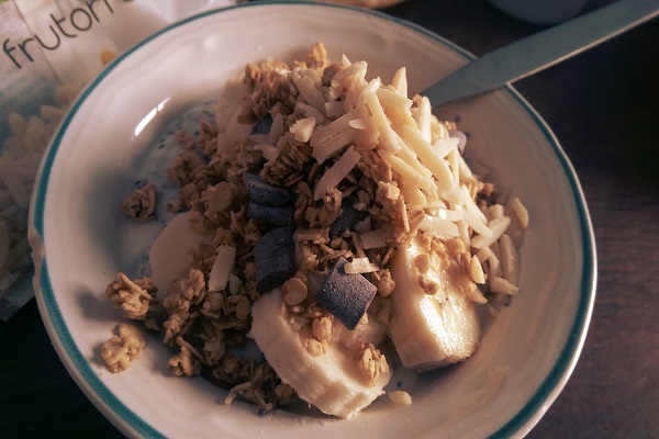 Frühstück, Rezept, Chia Samen, Müsli, vegetarisch